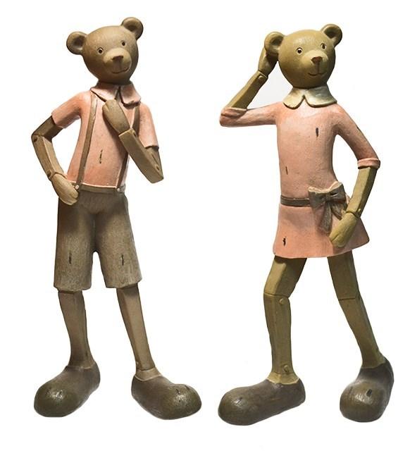 """Набор статуэток """"Веселые медвежата"""" - фото 6555"""