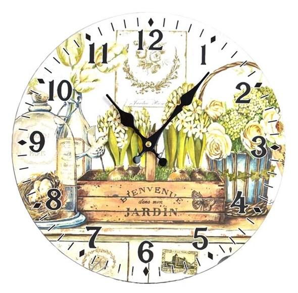 """Часы настенные """"Цветочный натюрморт"""" - фото 6763"""
