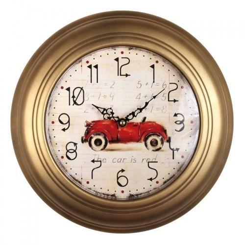 """Часы настенные """"Красная машина"""" - фото 6802"""