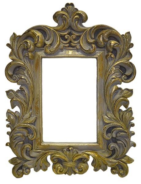 Зеркало настольное резное - фото 6836