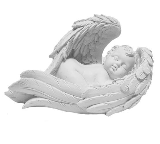 """Статуэтка """"Спящий ангел"""" правый - фото 6957"""