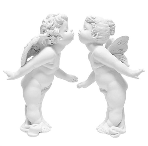 "Набор статуэток ""Целующиеся ангелы"" - фото 6977"