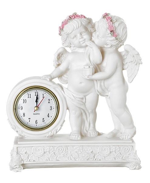 """Часы настольные """"Влюбленные ангелы"""" - фото 7328"""