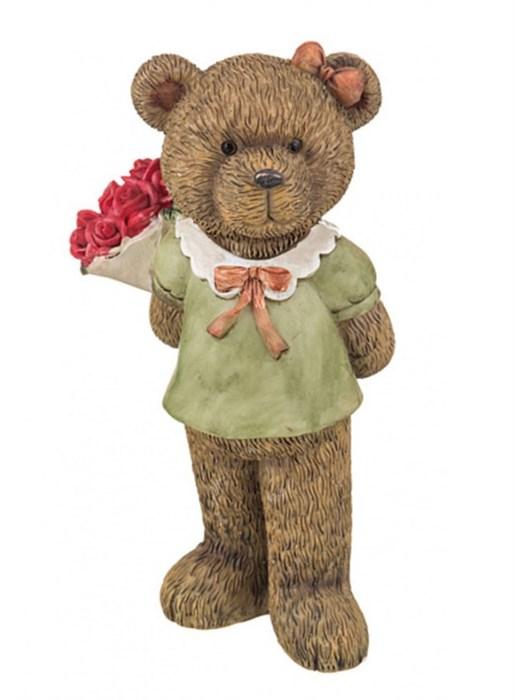 "Статуэтка ""Медведица с букетом"" - фото 7339"