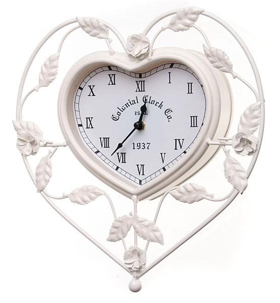 """Часы настенные """"Сердце"""" металлические - фото 7364"""