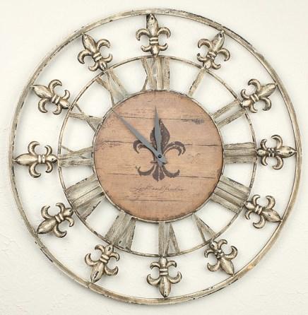 """Часы настенные """"Королевские"""", диаметр 60 см - фото 7569"""