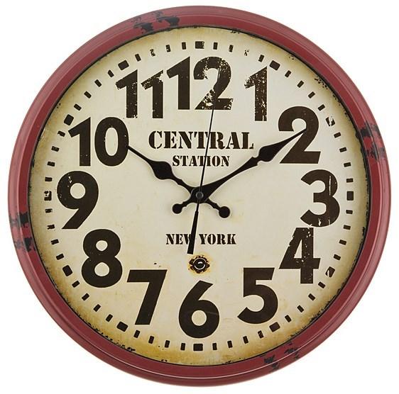 """Часы настенные """"Центральная станция"""" - фото 7703"""