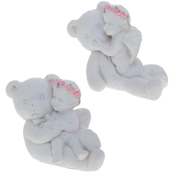 """Статуэтка """"Ангел с мишкой"""", цена за 1 шт - фото 7733"""