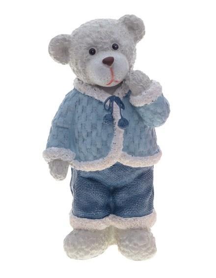 "Статуэтка ""Медвежонок серый"" - фото 7803"