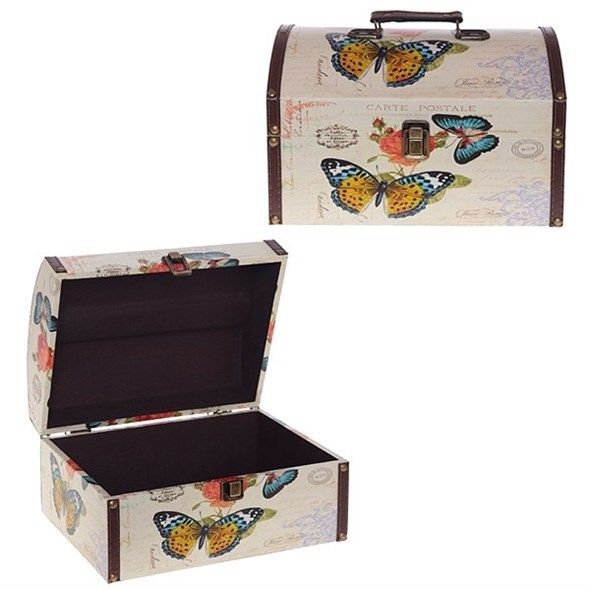 """Шкатулка-сундучок """"Бабочки"""" - фото 7846"""