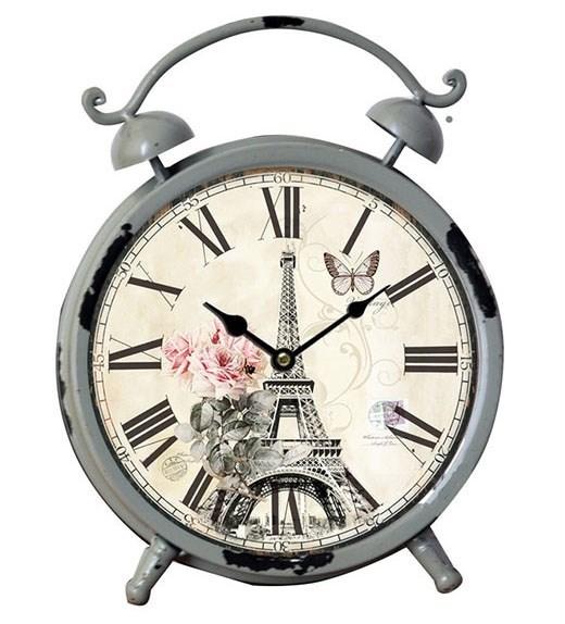 """Часы настольные """"Прекрасный Париж"""" - фото 7862"""