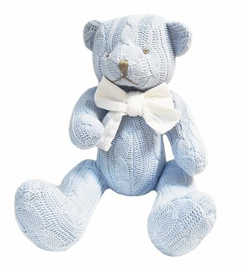 """Мягкая игрушка """"Вязанный медведь"""" - фото 8092"""