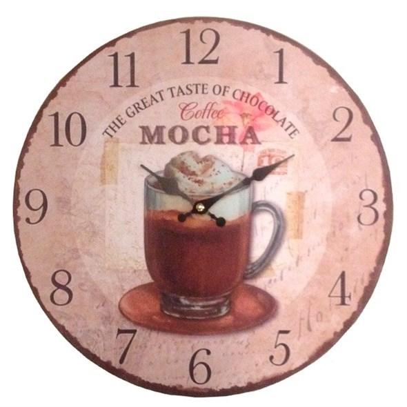 """Часы настенные """"Лучший кофе"""" - фото 8438"""