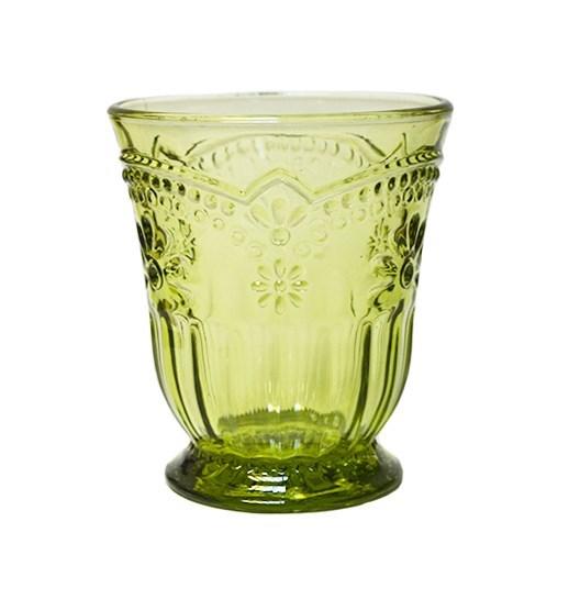 "Стакан ""Версаль"" зеленый 250 мл - фото 8561"