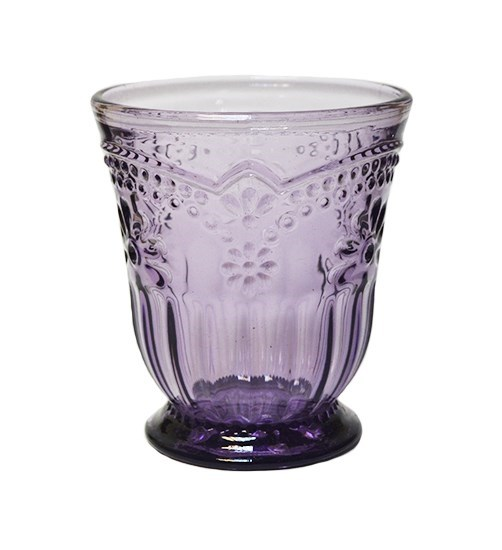 """Стакан """"Версаль"""" фиолетовый 250 мл - фото 8562"""