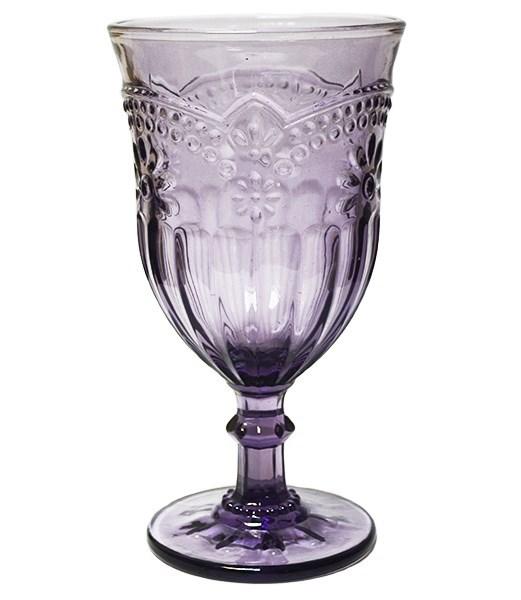"""Бокал """"Версаль"""" фиолетовый 300 мл - фото 8564"""