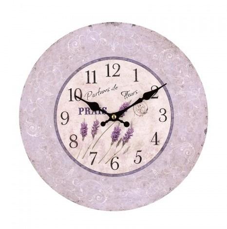 """Часы настенные """"Лавандовое настроение"""" - фото 8732"""