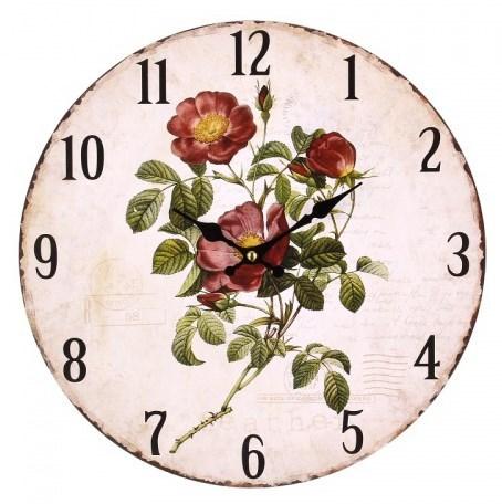 """Часы настенные """"Дикая роза"""" - фото 8736"""