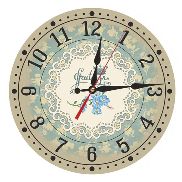 """Часы настенные """"Кружева"""" - фото 8911"""