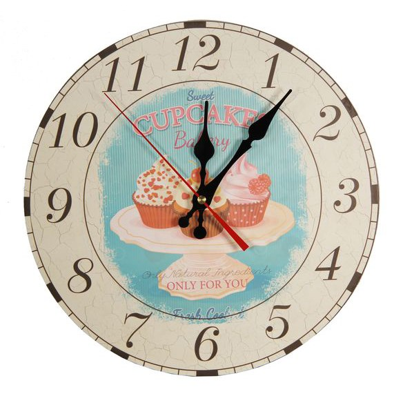 """Часы настенные """"Пирожные"""" - фото 8913"""