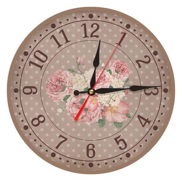 """Часы настенные """"Винтажные розы"""" - фото 8914"""