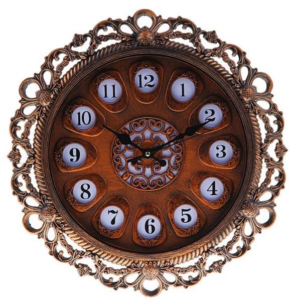 """Часы настенные """"Голландия"""" 35,5х35,5х4 - фото 8996"""