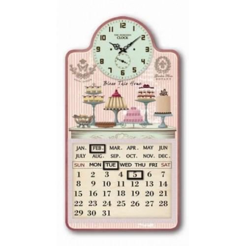 Часы настенные с календарем - фото 9184