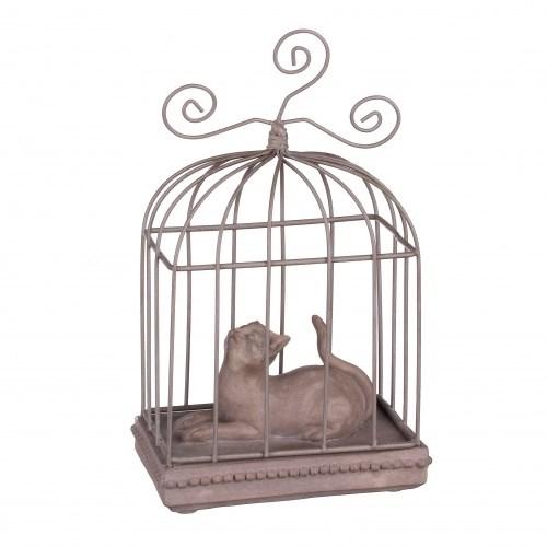 """Статуэтка """"Кошка в клетке"""" - фото 9260"""