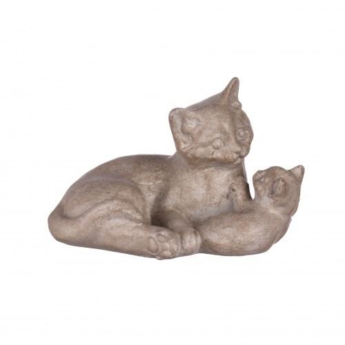 "Статуэтка ""Кошка с котенком"" - фото 9263"
