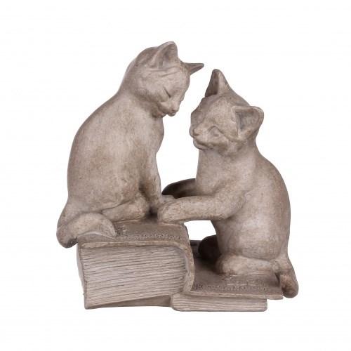 """Статуэтка """"Два котенка на книгах"""" - фото 9265"""