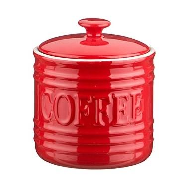 """Банка для хранения """"Кофе"""" 750 мл красная - фото 9305"""