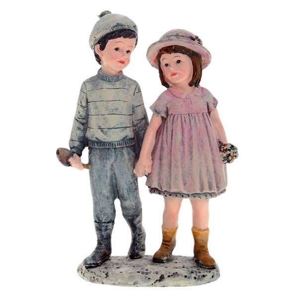 """Статуэтка """"Девочка и мальчик"""" - фото 9327"""
