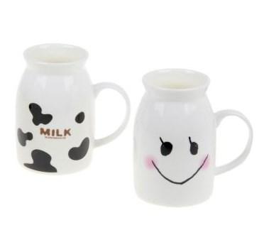 "Кружка-молочник ""Веселое молоко"" в ассортименте, цена за 1 шт - фото 9353"