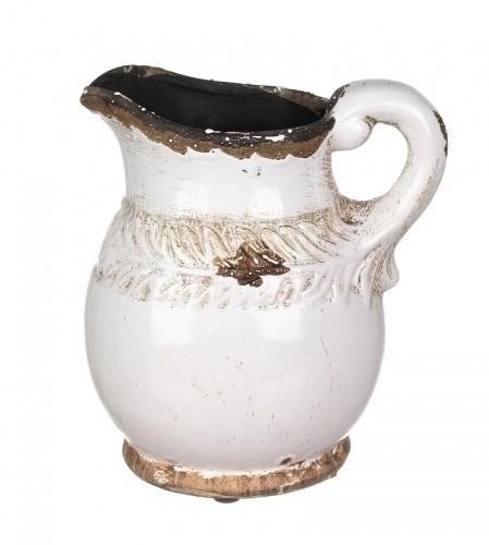 Кувшин керамический состаренный малый - фото 9661