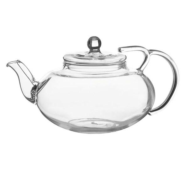 Чайник стеклянный заварочный 400 мл с ситечком - фото 9710