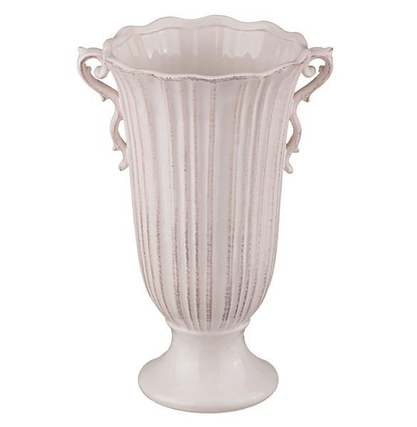 Вазон молочный керамический - фото 9775