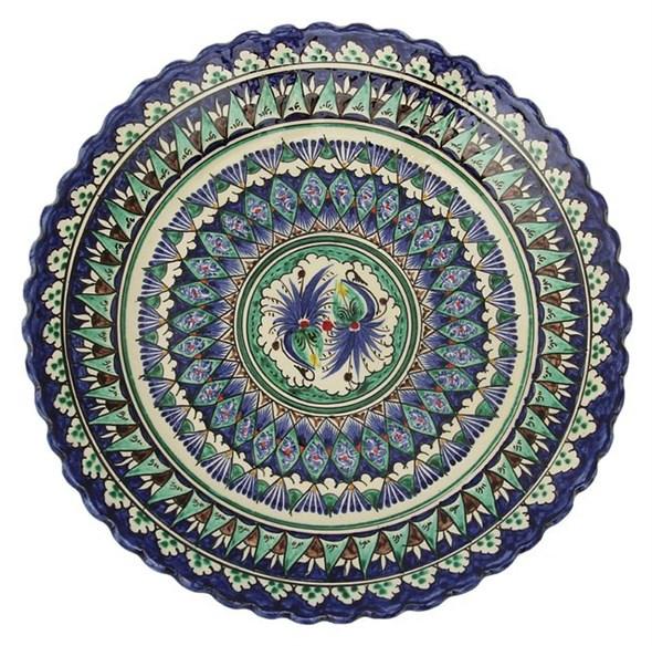 """Тарелка """"Восточные мотивы"""" рельефная, диаметр 25 см - фото 9778"""
