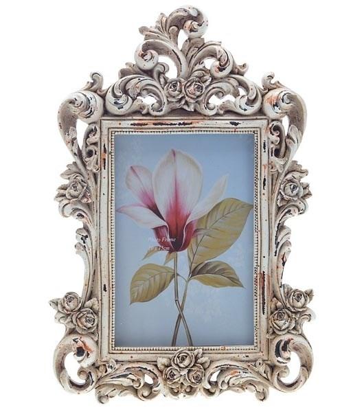 """Фоторамка """"Резные розы"""" 10х15 см - фото 9836"""