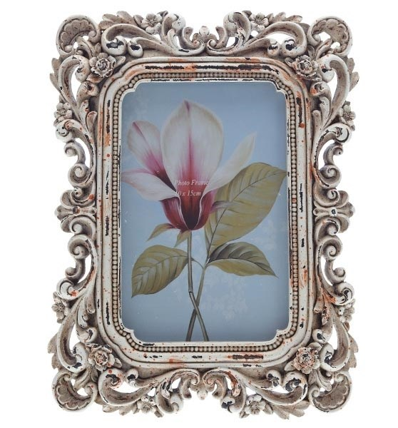 """Фоторамка """"Резные цветы"""" 10х15 см - фото 9837"""