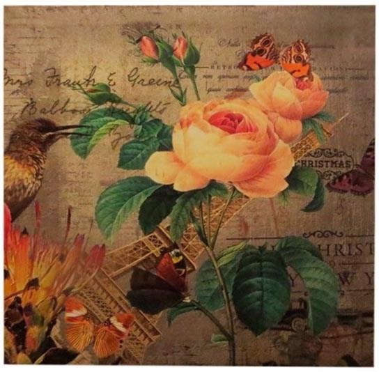 """Панно """"Розы Парижа"""" - фото 9867"""