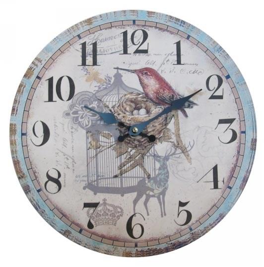 """Часы настенные """"Птица в клетке"""" - фото 9900"""