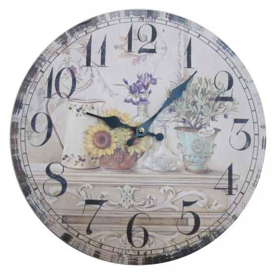 "Часы настенные ""Натюрморт Прованса"" - фото 9902"