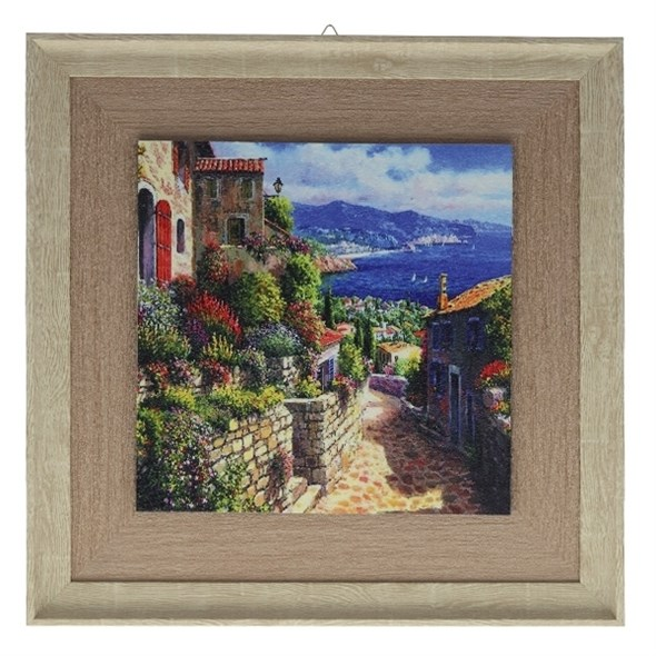 """Картина в раме """"Франция"""" - фото 9969"""