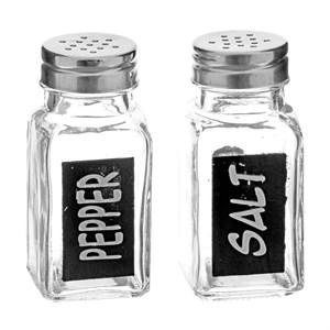 Набор для соли и перца стеклянный