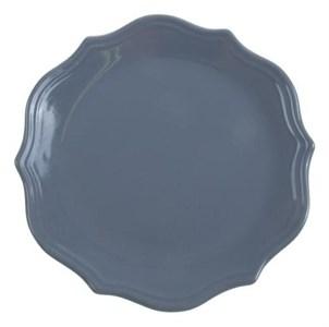 "Тарелка ""Испания"" серая диаметр 26 см"