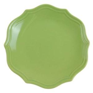 """Тарелка """"Испания"""" зеленая диаметр 21 см"""