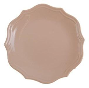 """Тарелка """"Испания"""" бежевая диаметр 21 см"""