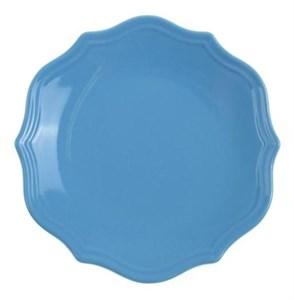 """Тарелка """"Испания"""" синяя диаметр 21 см"""