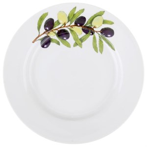 "Тарелка ""Ветка оливы"" диаметр 20 см"