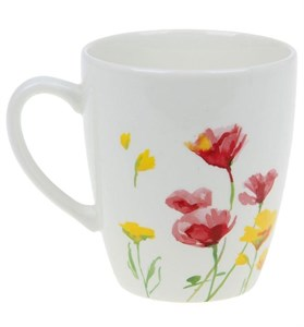 "Кружка ""Летние цветы"" 370 мл"